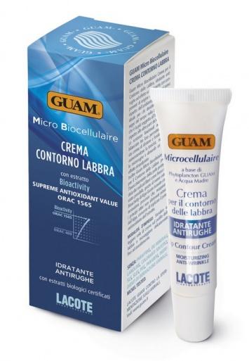 Guam Микробиоклеточный крем для контура губ, 15мл.