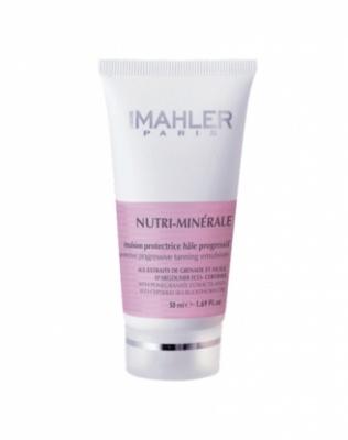 Питательная защитная эмульсия с тонирующим эффектом Simone Mahler Nutri-Minerale