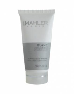 Защитный крем с витамином С и UV фильтром Simone Mahler Blanc Creme Protectrice,