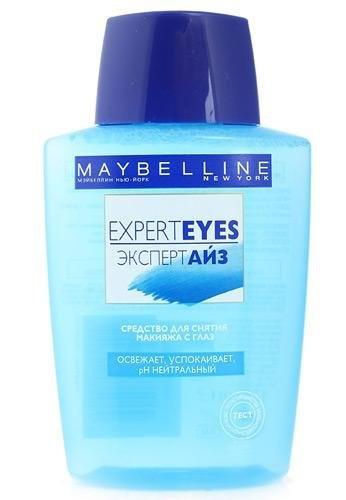 Maybelline Средство для снятия макияжа с глаз освежающее, успокаивающее Expert E
