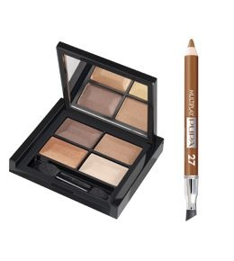 Pupa Набор для макияжа Troplcal Bronze Kit (тени 4- цветные+карандаш для глаз Mu