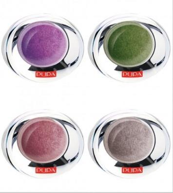Pupa  Тени для век 1-цветные запеченные Luminys 10 Бархатный пурпур, 2.2g.
