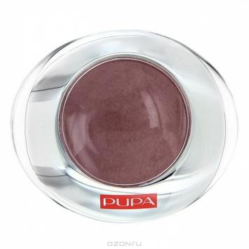 Pupa Тени для век 1-цветные запеченные с эффектом атласа Luminys Silk 300 Террак
