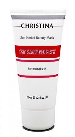 Sea Herbal Клубничная маска для нормальной кожи, 60мл.