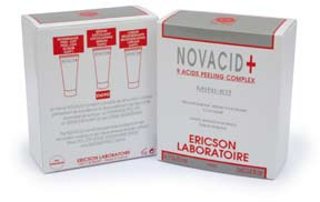 Ericson MINI-KIT NOVACID+ Набор для пилинга лица