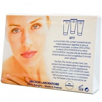 Ericson MINI-KIT DNA VITAL Набор для омоложения кожи.