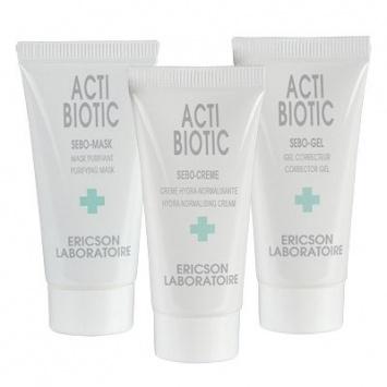 Ericson MINI KIT ACTI-BIOTIC Набор для жирной кожи