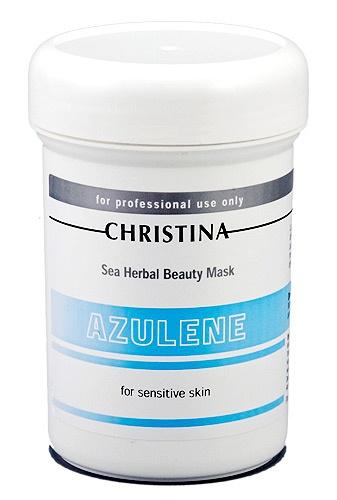 Sea Herbal Азуленовая маска для чувствительной кожи, 250мл.