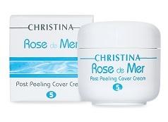 Rose De Mer 5 Post Peeling Cover Cream Постпилинговый тональный защитный крем