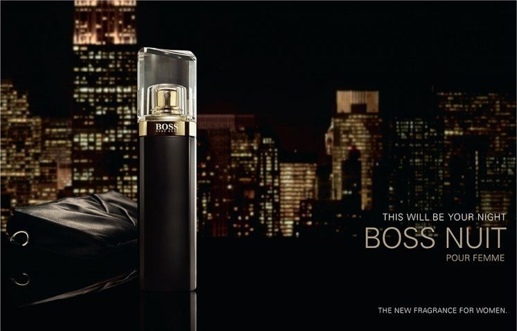 Hugo Boss Boss Nuit Femme Eau De Parfum парфюмированная вода Hugo